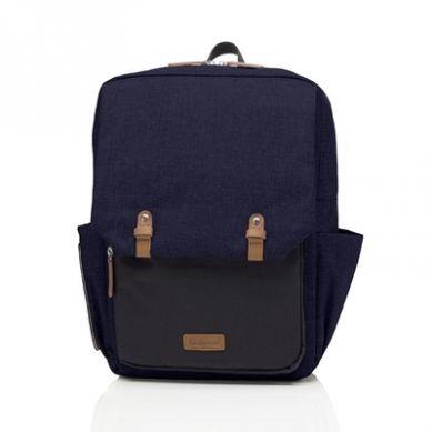 Babymel - Plecak dla Taty George Black/Navy Melange