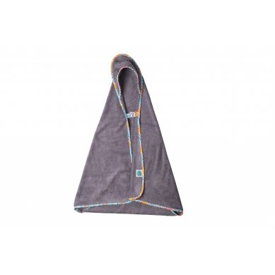 Pink no More - Bambusowy Ręcznik z Kapturkiem 0-5 lat Ethnic Intense