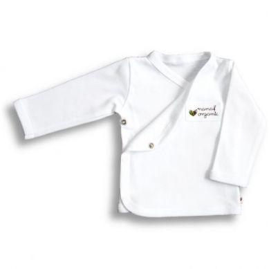 Nanaf Organic - Kaftanik Kimono Basic Biały 44cm