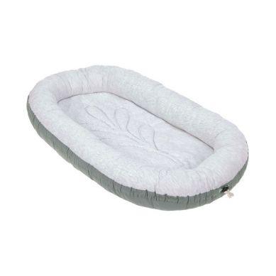 Lassig - Kokon Niemowlęcy Dwustronny Cozy Home Baby Nest Szarozielony