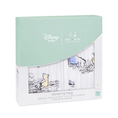aden + anais - Śpiworek Muślinowy Disney Kubuś Puchatek XL