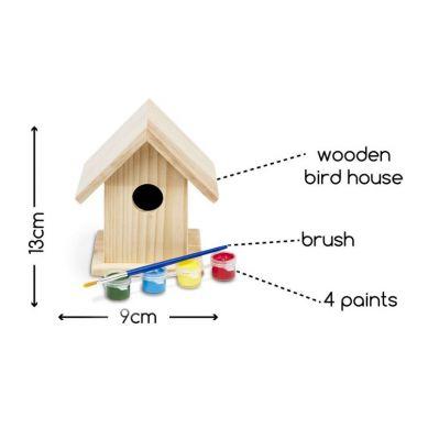 Buiten Speel - Domek dla Ptaków do Pomalowania