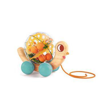 Djeco - Zabawka do Ciągnięcia z Dźwiękiem Ślimak 1+