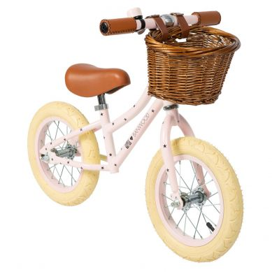 Banwood - FIRST GO! Rowerek Biegowy Bonton Pink 2+