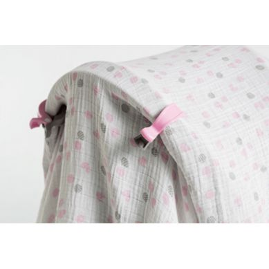 Lulujo - Zestaw Kocyków z Klipsami Pink