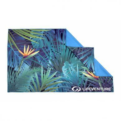 LittleLife - Ręcznik Szybkoschnący Soft Fibre Lifeventure 15x90 Tropical