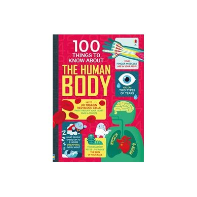 Wydawnictwo Usborne Publishing - 100 things to know about the human body
