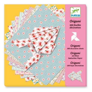 Djeco - Origami Pastelowy Papier