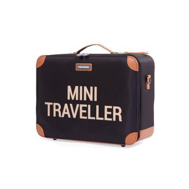 Childhome - Walizka Dziecięca Mini Traveller Czarno-Złota