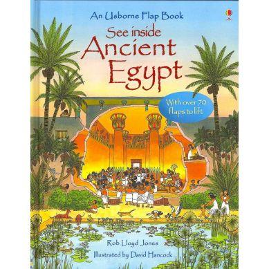Wydawnictwo Usborne Publishing - See Inside Ancient Egypt