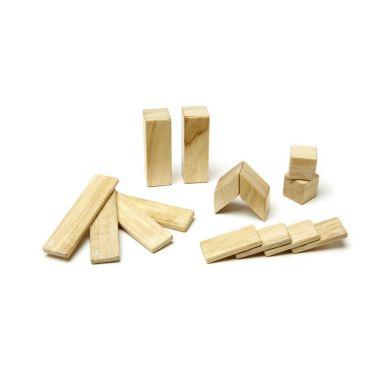 Tegu - Drewniane Klocki Magnetyczne Classics Zestaw 14szt Natural