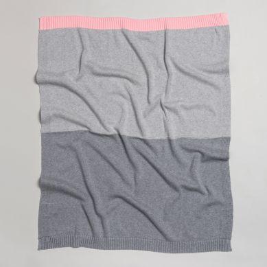 Bim Bla - Kocyk So Gray Różowy