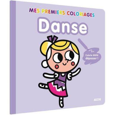 Auzou - Moja Pierwsza Kolorowanka Tańce 3+