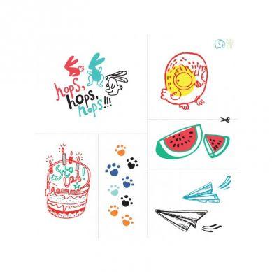 Zuzu Toys - Tatuaże dla Dzieci Letnie Wzory