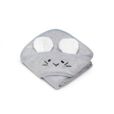 My Memi - Bambusowy ręcznik light grey - mouse