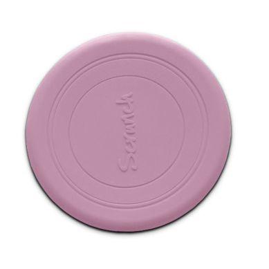 Scrunch - Zwijane Silikonowe Frisbee Pudrowy Róż