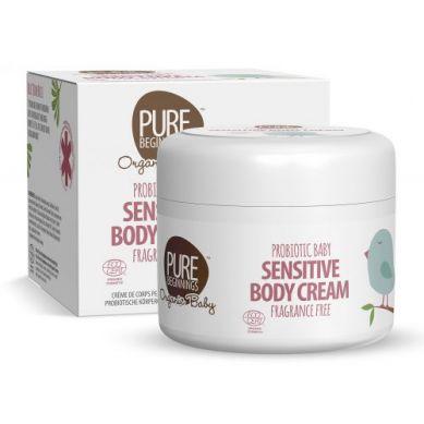 Pure Beginnings Organic Baby - Probiotyczny Krem Do Skóry Wrażliwej 250 ml