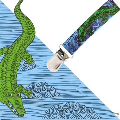 Lullalove - Zawieszka ToGo Krokodyl