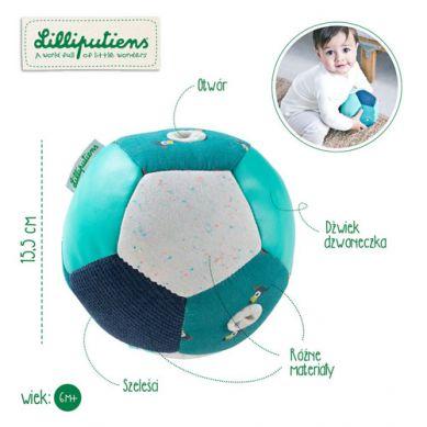 Lilliputiens - Piłeczka Aktywizująca Wielofunkcyjna Tukan Pablo 6m+