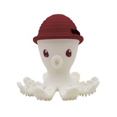 Mombella - Gryzak Zabawka Ośmiornica Chimney Red