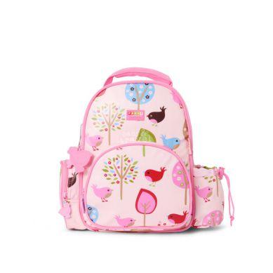Penny Scallan - Mały Plecak w Różowy w Ptaszki