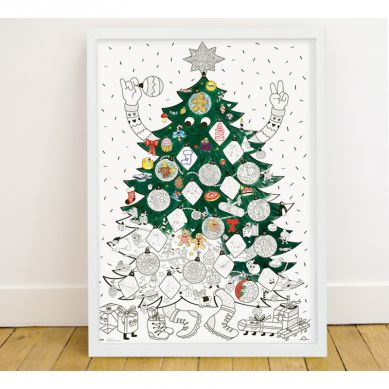 Omy - Kolorowanka Christmas Tree X MSF
