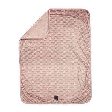 Elodie Details - Kocyk Pearl Velvet Pink Nouveau