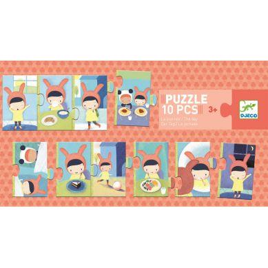 Djeco - Puzzle Dzień