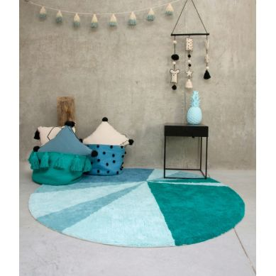 Lorena Canals - Dywan do Prania w Pralce Geometric Emerald