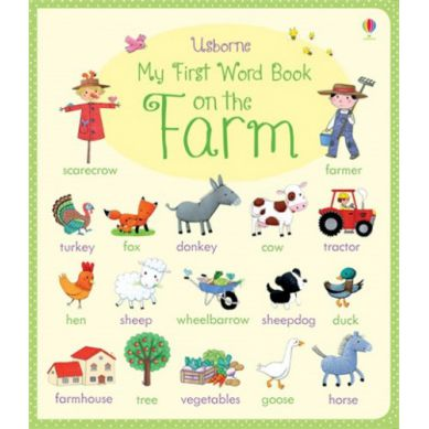 Wydawnictwo Usborne Publishing - My First Word Book: On The Farm