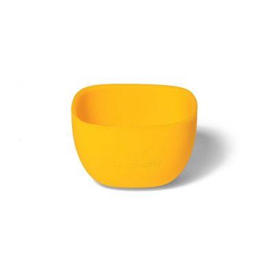 Avanchy - La Petite Silikonowa Miseczka dla Dziecka 4m+ Yellow
