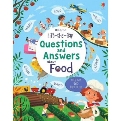 Wydawnictwo Usborne Publishing - Lift The Flap Questions And Answears About Food