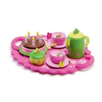 Djeco Przyjęcie Urodzinowe Zielono-Różowe