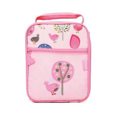 Penny Scallan - Duży Lunchbox Na Drugie Śniadanie Różowy w Ptaszki