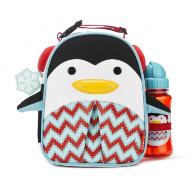 Skip Hop - Lunchbox Zoo Winter Pingwin z Bidonem