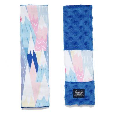 La Millou - Seatbelt Cover Mili Vanili Electric Blue
