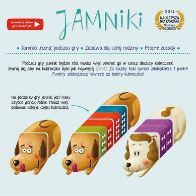 Wydawnictwo Nasza Księgarnia - Gra Jamniki 6+