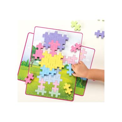 Plus Plus - Midi Pastel Puzzle Obrazkowe 60 szt. 1+