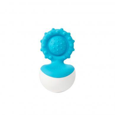 Fat Brain Toys - Bąbelki Dimpl Gryzak Wańka Wstańka Niebieski
