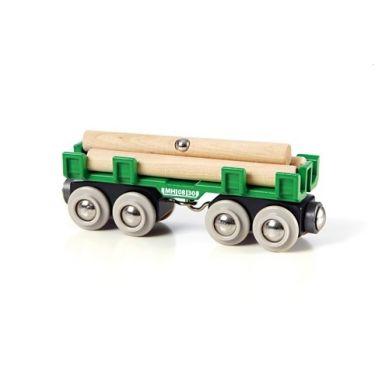 BRIO - World Wagon z Drewnem