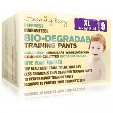 Beaming Baby - Pants Jednorazowe Biodegradowalne Pieluchomajtki 19szt XL