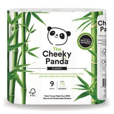 Cheeky Panda - Papier Toaletowy 4 rolki Trzywarstwowy