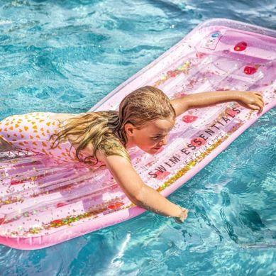 The Swim Essentials - Luksusowy Materac do Pływania Dots