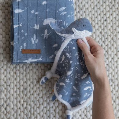 Little Dutch - Przytulaczek Wieloryb Ocean Błękit