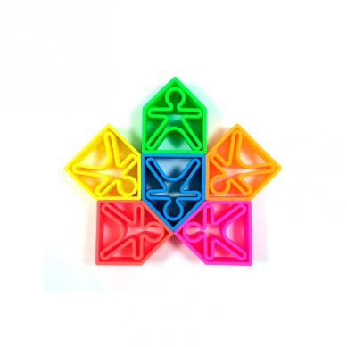 Dena - Zabawka Kreatywna 6 x Kid + 6 x House