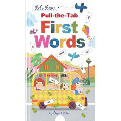 Wydawnictwo Usborne Publishing - First Words Pull The Tab
