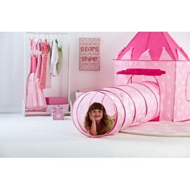 Kids Concept - Tunel w Gwiazdki Różowy