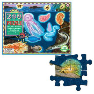 Eeboo - Puzzle Bioluminescent Creatures 208 elementów