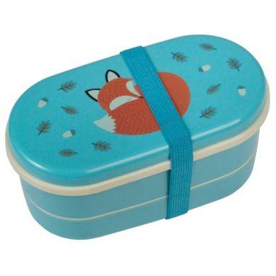 Rex - Dwupoziomowy Lunchbox Rusty the Fox
