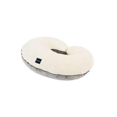 Poofi - Wielofunkcyjna poduszka kremowo-szara